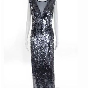 Dresses & Skirts - ***AVAILABLE***JS blue sequin long gown size 8